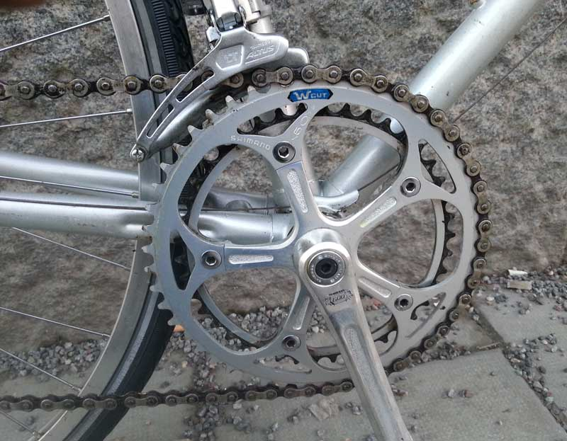 Tunturi with 600EX crank and Altus derailleur