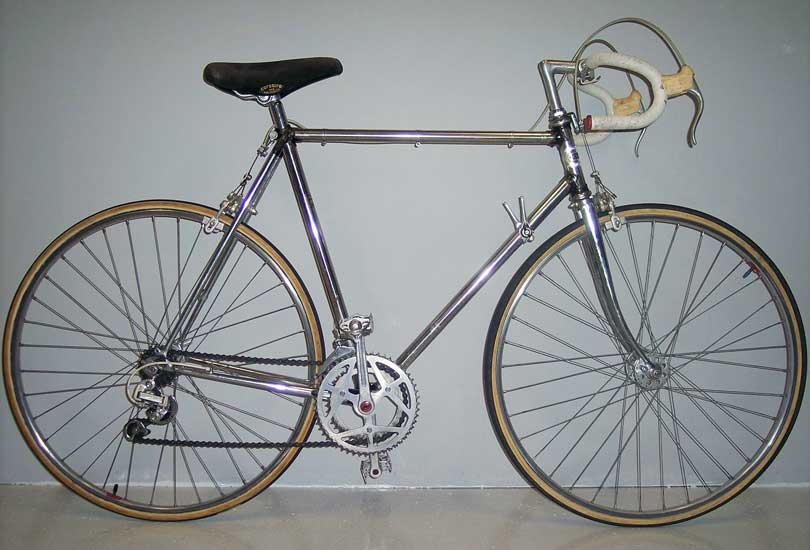 Crescent stainless frame