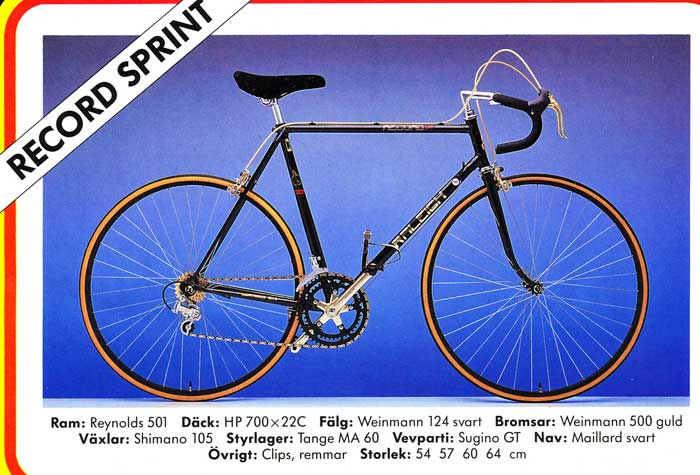 Raleigh Record Sprint