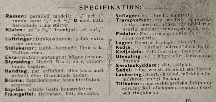 Nordpolen specifikation